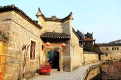 La vida en el campo de la ciudad antigua de Qianzhou Imagenes de archivo