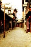 La vida en el campo de la ciudad antigua de Qianzhou Imagen de archivo libre de regalías