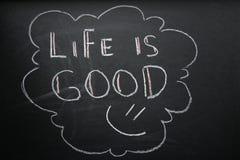 La vida es buena Foto de archivo