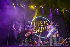 La vida es festival hermoso Foto de archivo libre de regalías