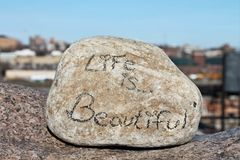 La vida es hermosa Foto de archivo libre de regalías