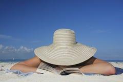 La vida es una playa Foto de archivo