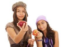 La vida sana viene del alimento sano Imagen de archivo libre de regalías