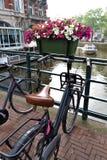 La vie à Amsterdam Image stock