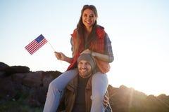 La vie active vivante en Amérique Photographie stock