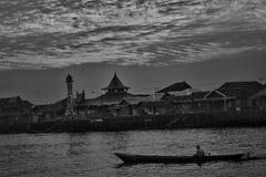 La vie au Bornéo Images libres de droits