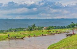 La vie autour de Bisanakandi images libres de droits