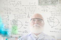 La vie consacrée à la science Photographie stock libre de droits