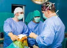 La vie d'économie dans l'hôpital Photo stock
