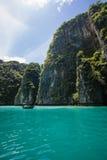La vie d'île de la Thaïlande Images libres de droits