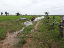 la vie d'agriculteur Images libres de droits