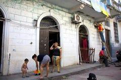 La vie dans Casco Viejo Photos libres de droits