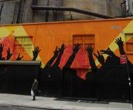 La vie dans la cuisine de l'enfer, New York Images libres de droits