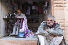 La vie dans Osian, Jodhpur, Ràjasthàn Photos stock