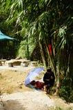 La vie dans Sapa-Viet Nam Photos stock