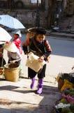 La vie dans Sapa-Viet Nam Photos libres de droits