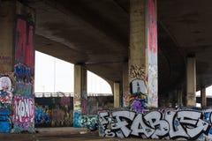 La vie de centre urbain Image libre de droits