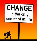 La vie de changement d'effort illustration stock