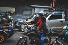 La vie de Chinatown Image libre de droits