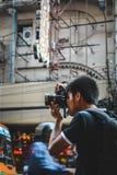 La vie de Chinatown Images libres de droits