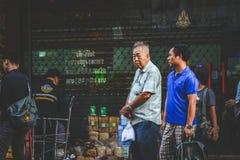 La vie de Chinatown Photos stock