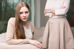 La vie de l'adolescent dur photographie stock libre de droits