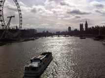 La vie de Londres Images libres de droits
