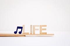 La vie de musique Photographie stock