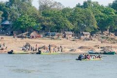 La vie de Myanmar Photographie stock libre de droits