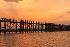 La vie de Myanmar Photographie stock