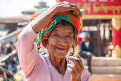 La vie de Myanmar Photos libres de droits