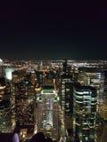 La vie de nuit à New York photographie stock libre de droits