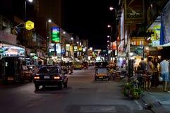 La vie de nuit de Chiang Mai Images libres de droits
