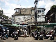 La vie de personnes à Bangkok Image libre de droits