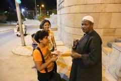 La vie de personnes aux bédouins de désert - Egypte photos stock