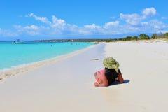 La vie de plage Image libre de droits