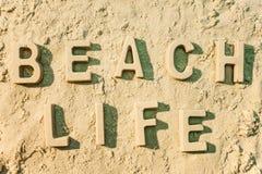 La vie de plage Photographie stock