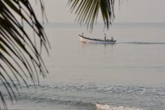 La vie de plage dans Goa Photo libre de droits