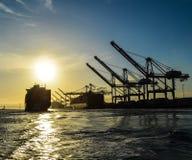 La vie de port Image libre de droits