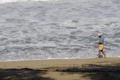 La vie de touristes sur l'île de Maui Image stock