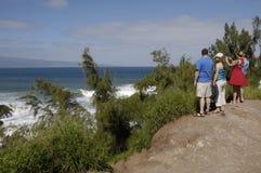 La vie de touristes sur l'île de Maui Photo stock