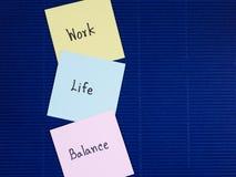 La vie 16 de travail Images libres de droits