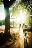 la vie de vélo Photo libre de droits