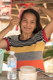La vie de village dans un village de flottement près de Siem Reap Photos libres de droits