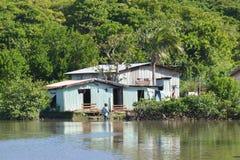 La vie de village de Fijian Image stock