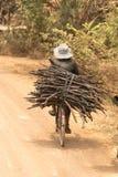 La vie de village près de Siem Reap Image libre de droits