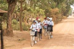 La vie de village près de Siem Reap Photos stock