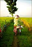 La vie de villageois Images stock
