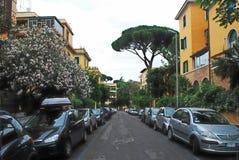 La vie de ville de Rome Vue de ville de Rome le 31 mai 2014 Image stock