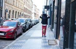 La vie de ville de la Pologne Wroclaw Images stock